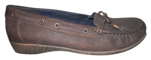 Ara Leather brown Flats