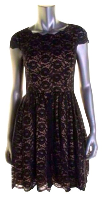 Preload https://item2.tradesy.com/images/aqua-black-new-lace-cap-sleeves-party-cocktail-dress-size-0-xs-3473446-0-0.jpg?width=400&height=650