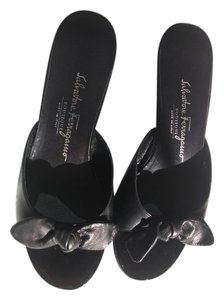 Salvatore Ferragamo Boutique Black Sandals