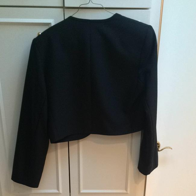 Saint Laurent Yves Vintage Yves Ysl Crop Black Blazer
