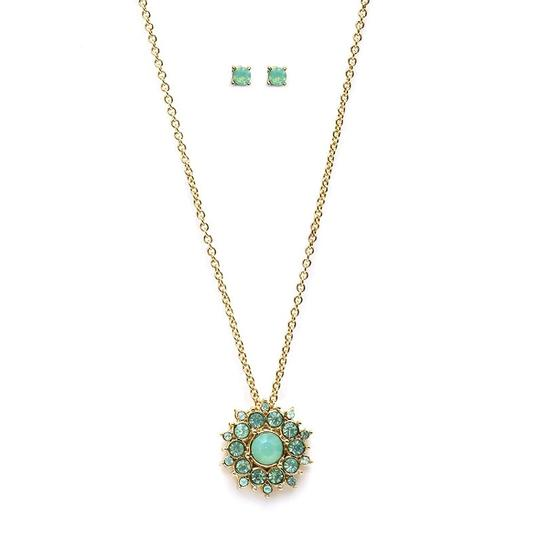 Preload https://item4.tradesy.com/images/mariell-mint-opal-sunburst-pendant-stud-earrings-set-4297s-mnt-g-necklace-3473968-0-0.jpg?width=440&height=440