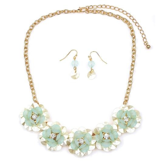 Preload https://item1.tradesy.com/images/mariell-mint-pearlized-flower-with-soft-petals-4332s-mnt-g-necklace-3474070-0-0.jpg?width=440&height=440