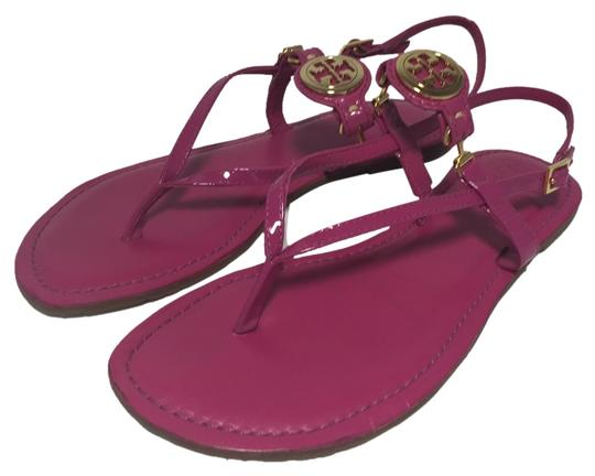858342ed1b3271 Tory Burch Ali Pink Orchid Sandals on Sale