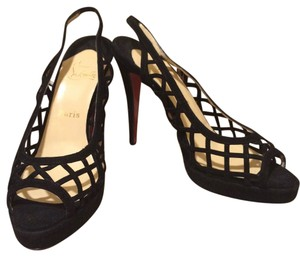 Christian Louboutin Evening Black Pumps
