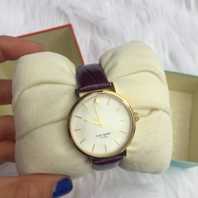 Item - Purple Leather Watch