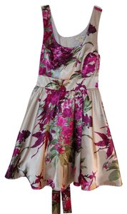 Forever 21 Floral Empire Waist Dress
