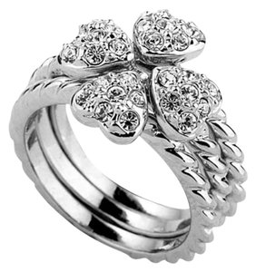 Four Hearts Ring
