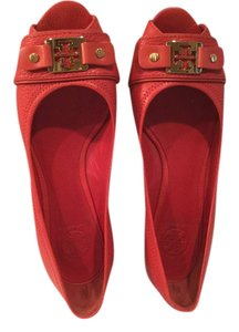 Tory Burch Coral Wedges