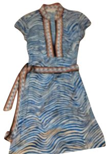 Trina Turk short dress Multi Blue on Tradesy