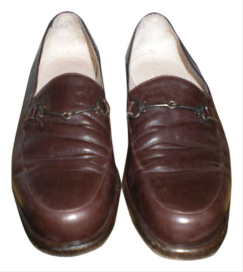 Preload https://item4.tradesy.com/images/emporio-armani-brown-leather-vintage-classic-loafers-flats-size-us-8-regular-m-b-347573-0-0.jpg?width=440&height=440