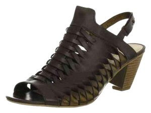 Koolaburra Wedge Sandal Woven Sandal Brown Sandals