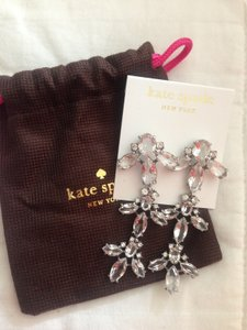 Kate Spade Ice Queen Chandelier Earrings