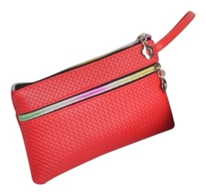 Other Wallet Clutch Coin Purse Wristlet in Red