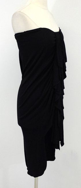 Jean-Paul Gaultier Strapless Hook And Eye Tunic