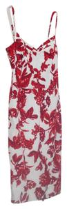 Charles Chang Lima short dress Red Linen Sun on Tradesy
