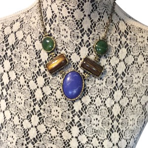 Eves revolution Statement Necklace w/earrings