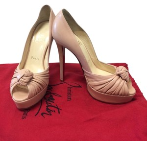 Christian Louboutin Rose Pink Platforms