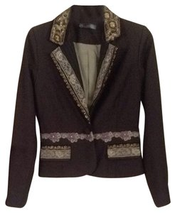 True Meaning Dark Brown Blazer