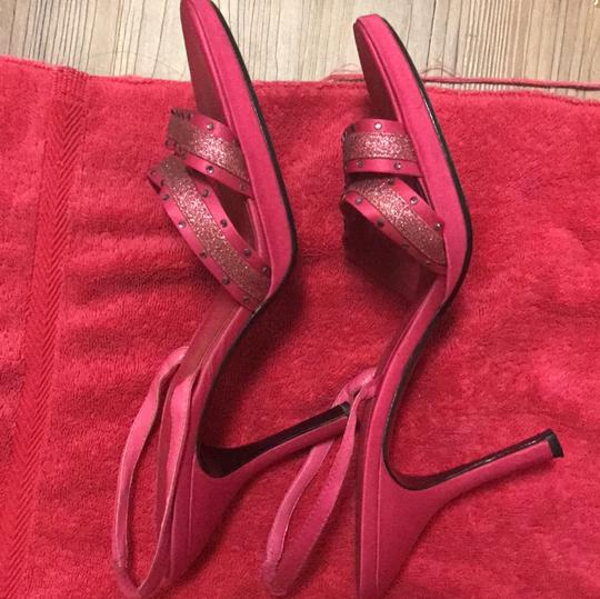 Metaphor Fuchsia Pink Sandals