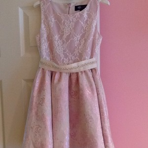 A.B.S. By Allen Schwartz Light Pink Dress