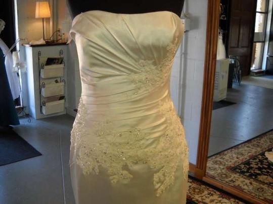 Enzoani Ivory Catherine Wedding Dress Size 8 (M)