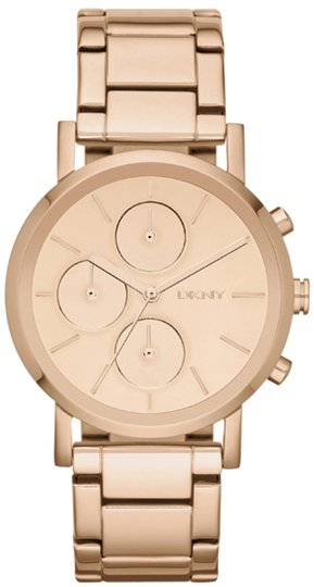 DKNY DKNY Watch, Women's Rose Gold Chronograph Watch NY8862