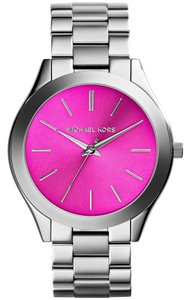 Michael Kors Michael Kors Women's Slim Runway Stainless Steel Bracelet Watch 42mm MK3291