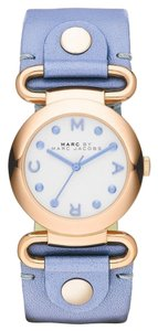 Marc by Marc Jacobs Marc by Marc Jacobs Women's Molly River Leather Strap Watch 30mm MBM1307