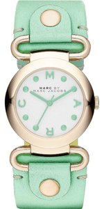 Marc by Marc Jacobs Marc by Marc Jacobs Women's Molly Minty Leather Strap Watch 30mm MBM1306