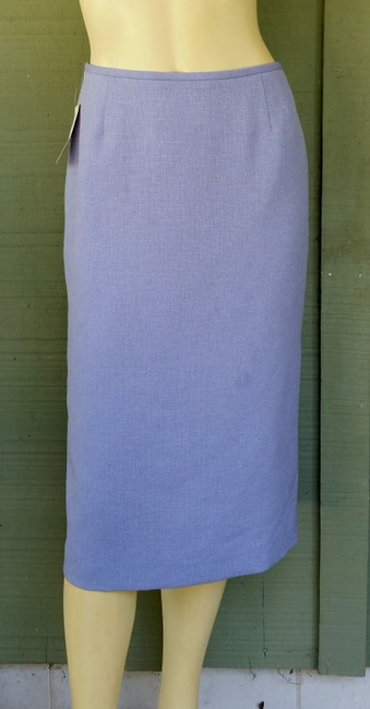 Other NWT STRESA Periwinkle Ivory 3 pc Career Skirt Suit 4
