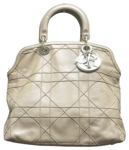 Dior Christian Granville Tan Shoulder Bag