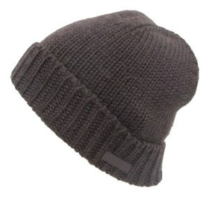 7a57549d05624 Louis Vuitton Cable Knit Beanie Brown Skully Skull Cap 166284 LVTL102