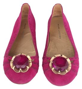 Marc Jacobs Pink Flats