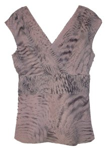 Banana Republic Top Pink & Grey