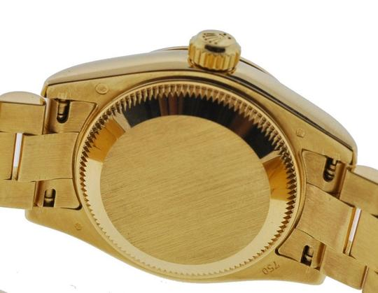 Rolex Rolex 179178 Ladies President 18k Yellow Gold Factory Diamond Dial Watch