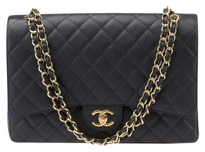 Chanel Maxi Caviar Quilted Shoulder Bag