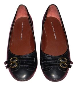 Marc by Marc Jacobs Classic Leather Black Flats