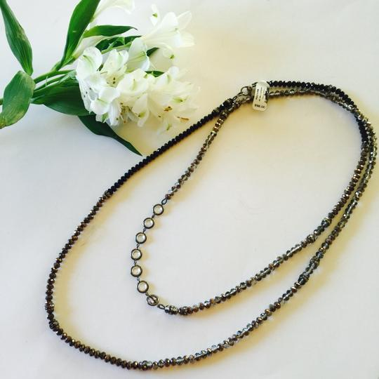 Henri Bendel Henri Bendel Beaded Crystal Twenties Long Necklace