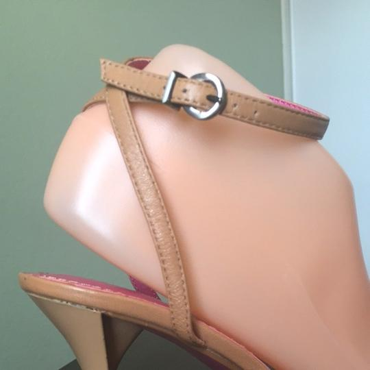 Charles by Charles David Tan With pink Sandals