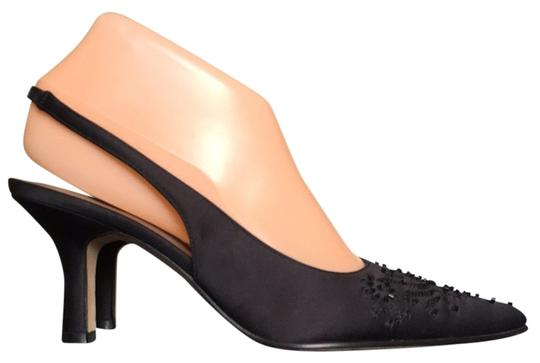 Preload https://item2.tradesy.com/images/nina-black-satin-pointed-with-beads-pumps-size-us-7-regular-m-b-3480511-0-0.jpg?width=440&height=440