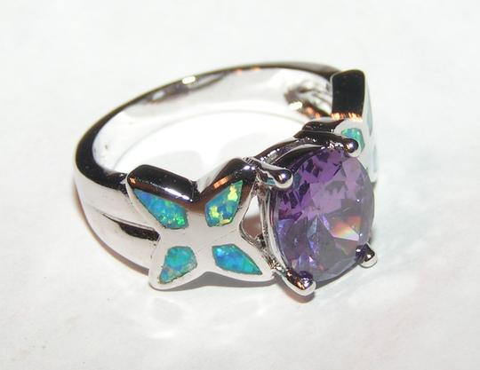 Multi Colored Bogo Free Opal Amethyst Free Shipping Ring
