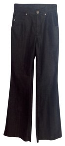 Kiton Elegant Comfortable Unique Dark Relaxed Fit Jeans-Dark Rinse