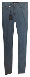 Kiton Soft Dressy Elegant Multi Stretched Unique Skinny Jeans-Light Wash