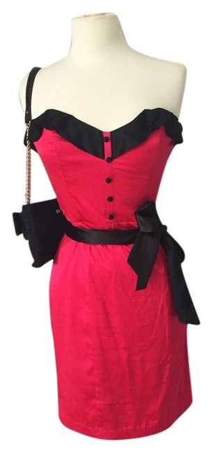 Preload https://img-static.tradesy.com/item/3481132/betsey-johnson-red-cocktail-dress-size-8-m-0-0-650-650.jpg