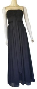 J.Crew Silk Chiffon Gown Strapless Dress