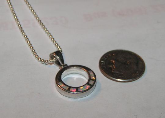 Multi Colored Bogo Free Opal Circle Free Shipping Necklace