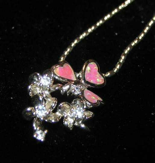 Preload https://item4.tradesy.com/images/other-lovely-pink-opal-floral-pendant-free-chain-and-shipping-3482503-0-0.jpg?width=440&height=440