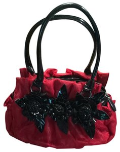 Tote in Red And Black