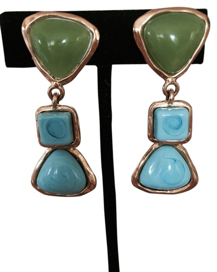 Preload https://item2.tradesy.com/images/chanel-turquoise-and-green-earrings-3482536-0-0.jpg?width=440&height=440