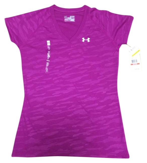 Preload https://item1.tradesy.com/images/under-armour-magenta-shock-ua-tech-short-sleeve-v-neck-activewear-top-size-2-xs-26-3482770-0-0.jpg?width=400&height=650